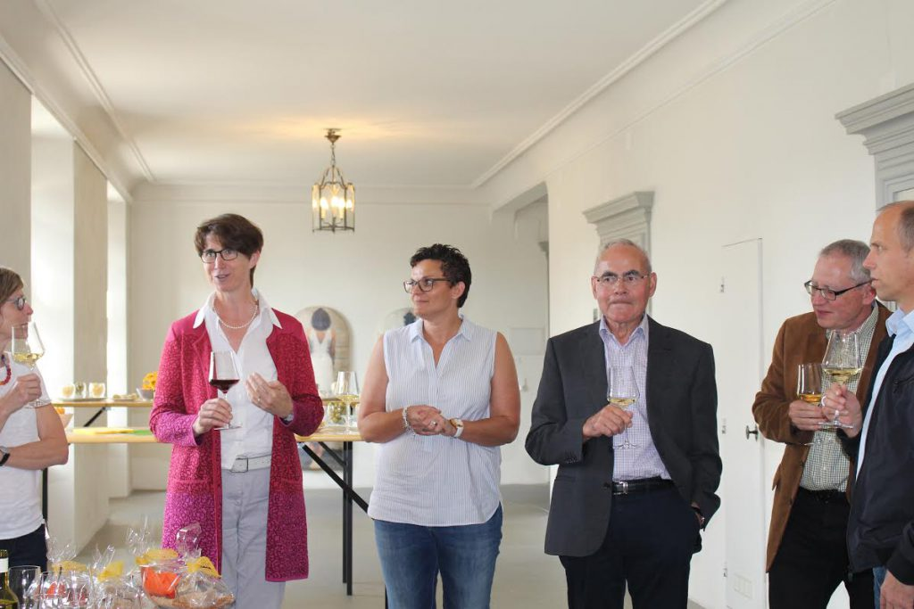 Gerda Jung Besuch Kantonsrat Juni 2016